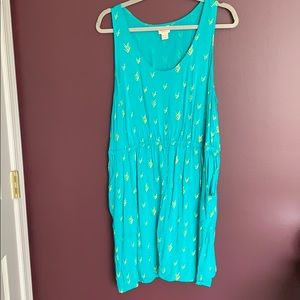 Tank top pocket dress